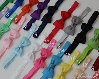 SET OF 20 headbands - baby bow headbands set -  baby bow headband - baby headband - headband baby - baby - headband - headband bow