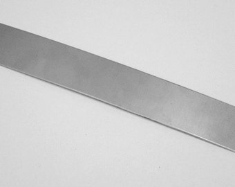 """Stainless Steel Sheet 26ga 6"""" x 1"""" .46mm Thick"""