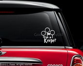 I'm a Keeper Window Decal / Sticker - Potter Inspired
