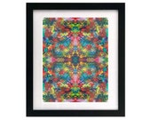 8.5 x 11 Abstract Digital Art Print - Signed & Numbered - Starving Artist Sale