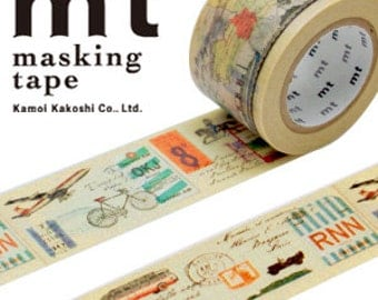 MT Washi Masking Deco Tape EX Travel Vehicles