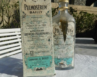 Syrup Bottle Pulmoserum Bailly