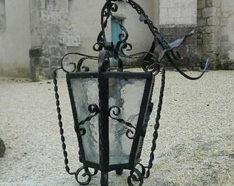 """Vintage French """" lamp or lantern """""""