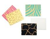 Assorted Animal Pattern & Color Set