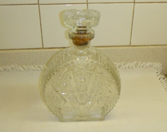 Beautiful glass/crystal decanter