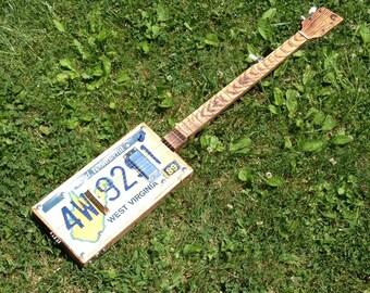 Five String License Plate Banjo
