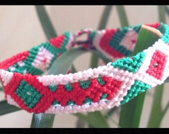Viva Mexico Friendship Bracelet  - 12 Strings (052s)