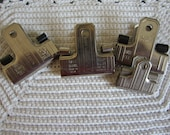 Large Metal Clips for Paper and Display Set of 4