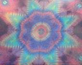 Pastel Passion Mandala Tapestry Tie Dye