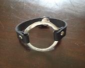 Circle Saddlestrap Bracelet