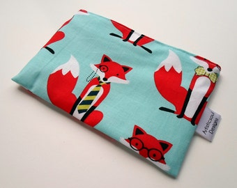 Snack & Sandwich Bag Fox Eco-Friendly Reusable