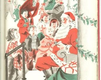 Vintage 1950 The Real Santa Claus Book