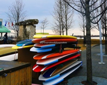 "Toronto ""Surfboards 3"" Fine Art Photograph"