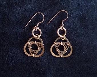 Industrial Chic Hardware Steampunk Earrings (item #73)