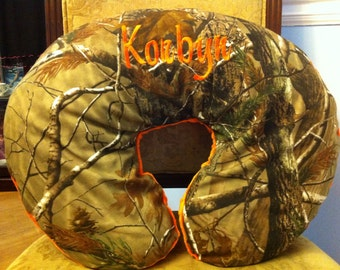 Personalized Camo Nursing Pillow Cover