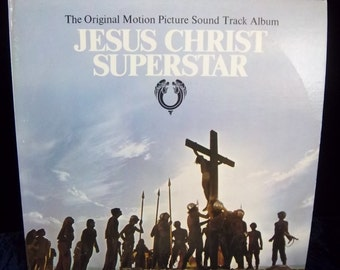 Original Jesus Christ Superstar Record Album 2LP Set JCS Movie with Photo Album and Song Lists