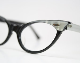 Small Cat Eye Glasses Vintage Eyewear Retro Glasses