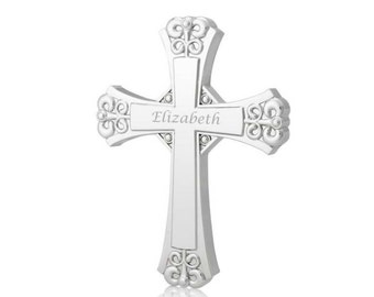 Silver Wall Cross