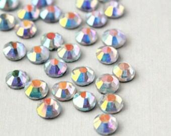 Wholesale 1440pcs AB Crystal High Quality Flatback Rhinestone 2.3-2.4mm-7538j