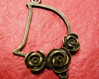 4pc antique bronze chandelier component-P213