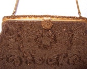 Beaded Evening Bag French...