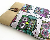 Macbook 11 inch owls,  Macbook Air/pro Case Padded 11 in,  Surface RT/PRO case.