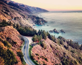 California photo, Big Sur, Pacific Coast Highway, Road trip, Travel photography, California coast photograph