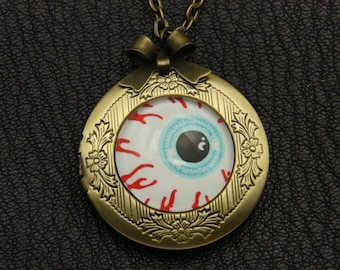 Necklace locket eye 2020m