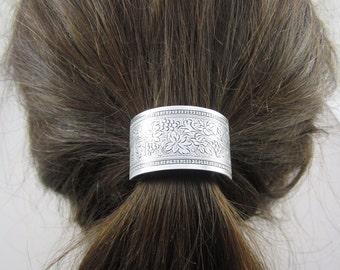 Ponytail Holder Grapevine Design- Hair Accessories- Elastic Hair Ties