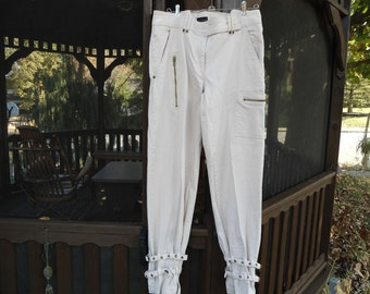 Wet Seal Edgy Strappy Industrial Pants size 11