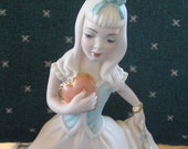 Vintage Ceramic Princess with Heart Great, Vintage Princess Gifts under 30, - ChinaGalore