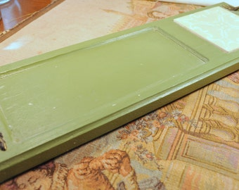 Vintage Wooden Cheese Tray  - Great Addition to your Retro Kitchen