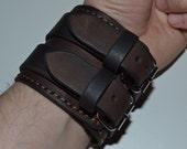 Leather Bracelet-men bracelet-handmade-