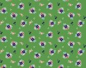 Country Floral in Green: Tasha Noel 1/2 Yard Cut