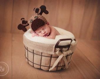 Baby Moose Hat