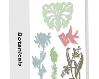 "Cricut Cartridge  - ""  BOTANICALS ""  LITE - New and Sealed - RETiRED and RARe - Not in Stores !"