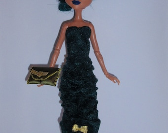 M H Clothes hand made Dress,clutch . Handmade MH clothes,accessories
