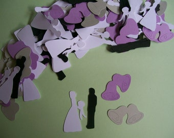 150 Piece Wedding Confetti -  Bridal Shower Confetti - Wedding Confetti