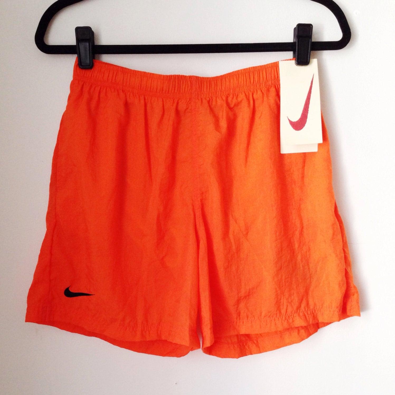 Deadstock Nike Orange Athletic Shorts Boys Size Extra Large
