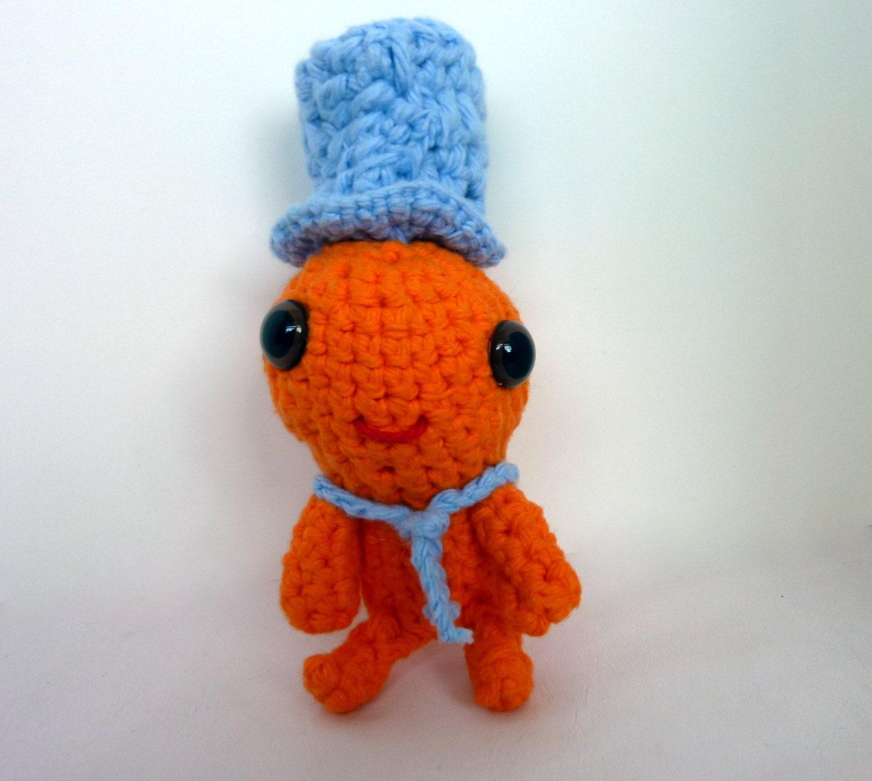 Amigurumi Small Doll : Amigurumi baby amigurumi doll alien doll hat toy doll
