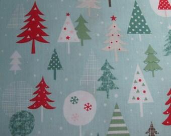 SALE-Dashwood Christmas cotton fabric by the metre