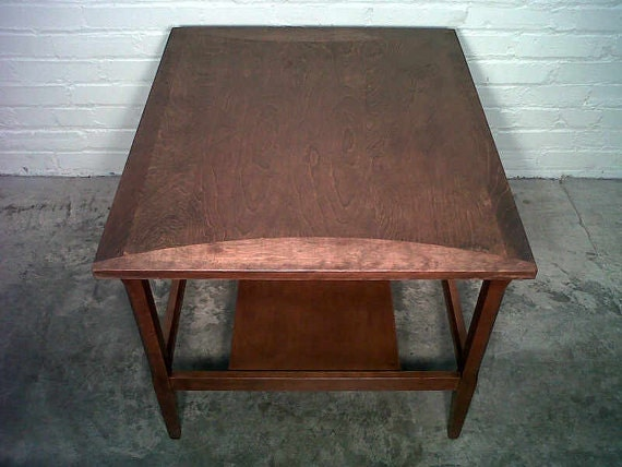 HEYWOOD WAKEFIELD Mid-Century Danish Modern End Table / Lamp Table / Nightstand  >> Reduced Price <<