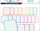 Lined Decorative Labels