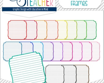 Lined Decorative Labels