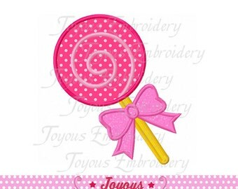 Instant Download Lollipop Applique Embroidery Design NO:1515