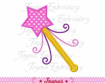 Instant Download  Wand  Applique Embroidery Design NO:1564
