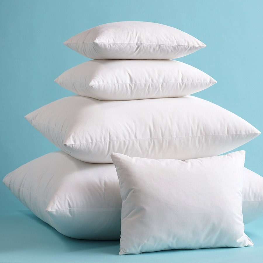 Best Pillow Inserts For Throw Pillows : Indoor Outdoor Pillow Inserts Pillow Form Pillow Stuffing High