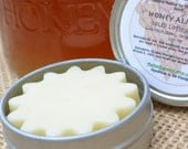 Honey Almond Solid Lotion Bar, 1 oz Tin...For thirsty skin and aromatherapy