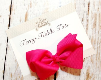 Hot Pink Boutique Haribow - Boutique Hairbow