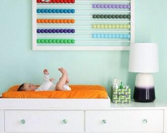 Baby Nursery/ Kids Wall Art Abacus